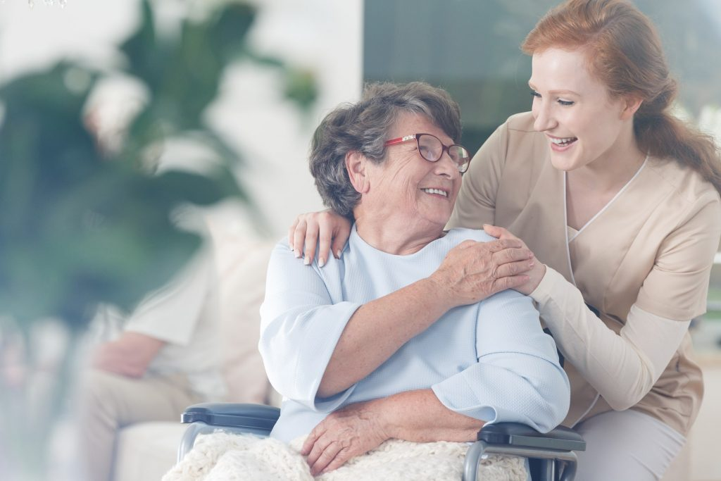 Image of Caregiver and Patient