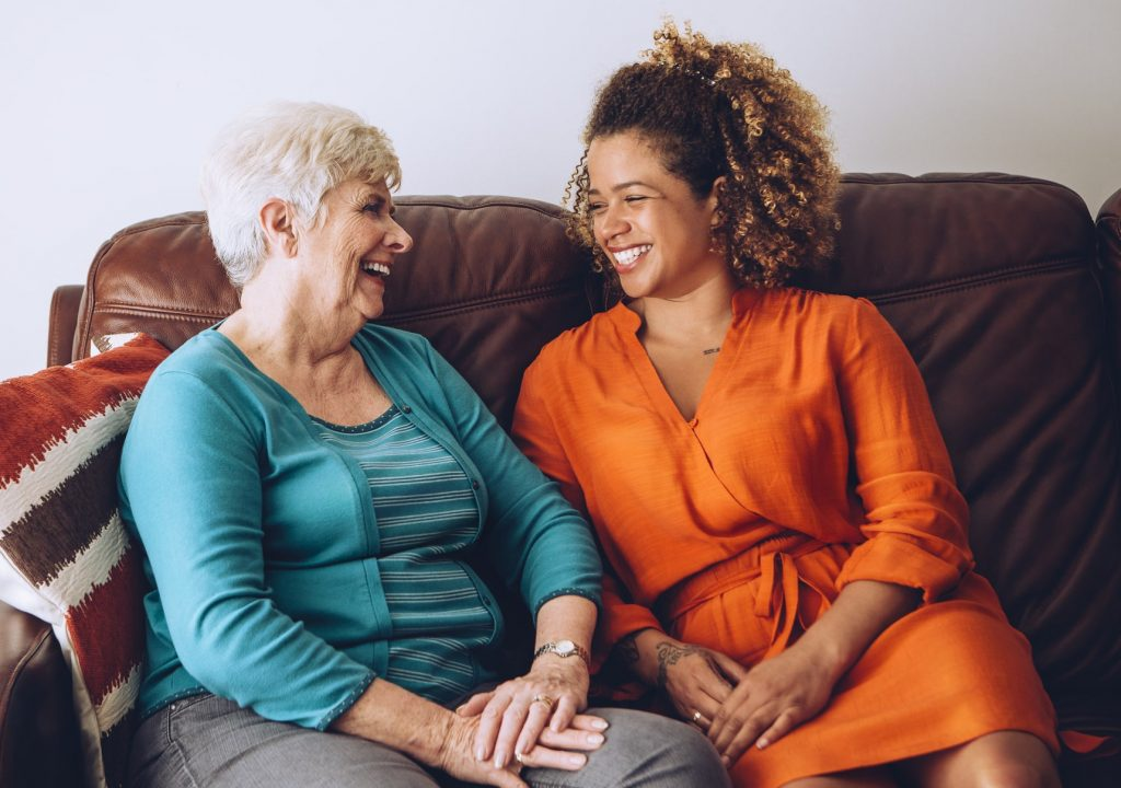 Image of Caregiver with Patient