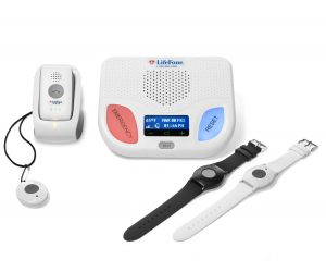 lifefone in-home medical alert system and mobile medical alert system