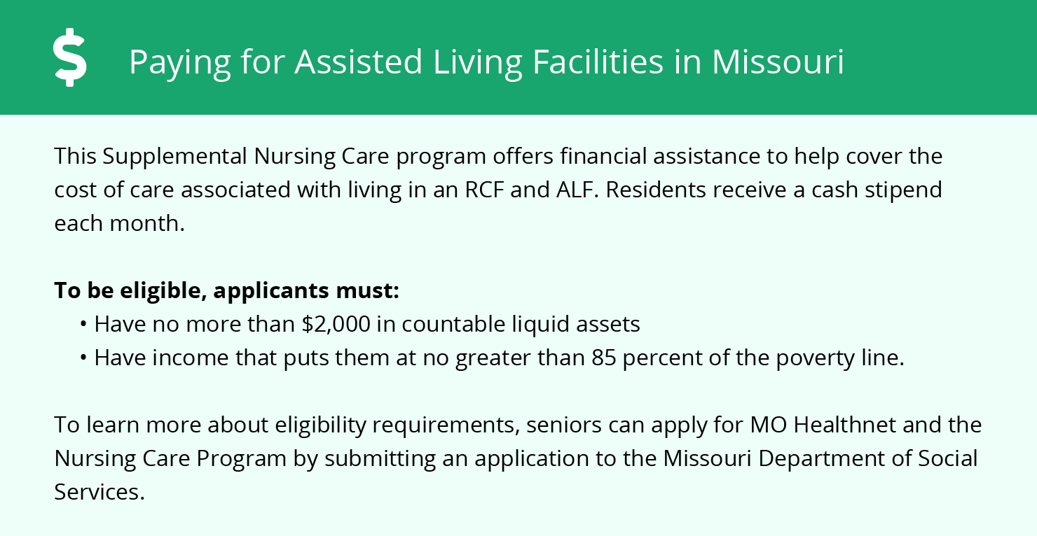 Financial Assistance for Assisted Living in Columbia