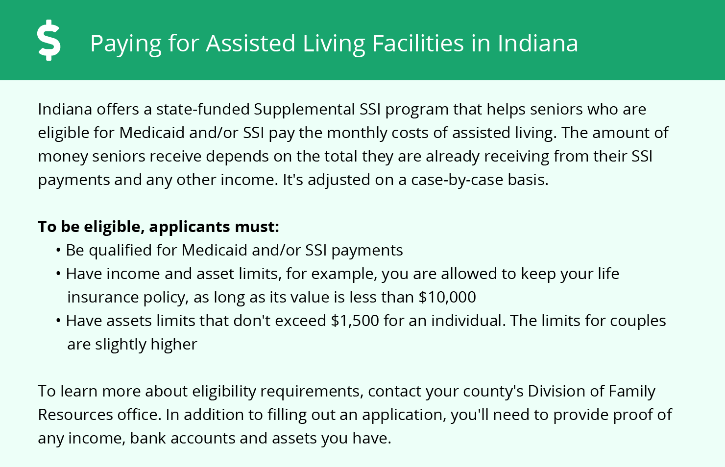 Financial Assistance for Assisted Living in Warsaw