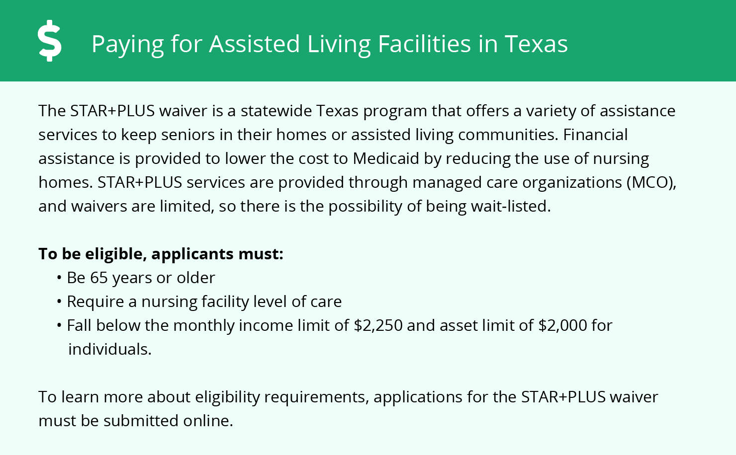 Financial Assistance for Assisted Living in Denton County