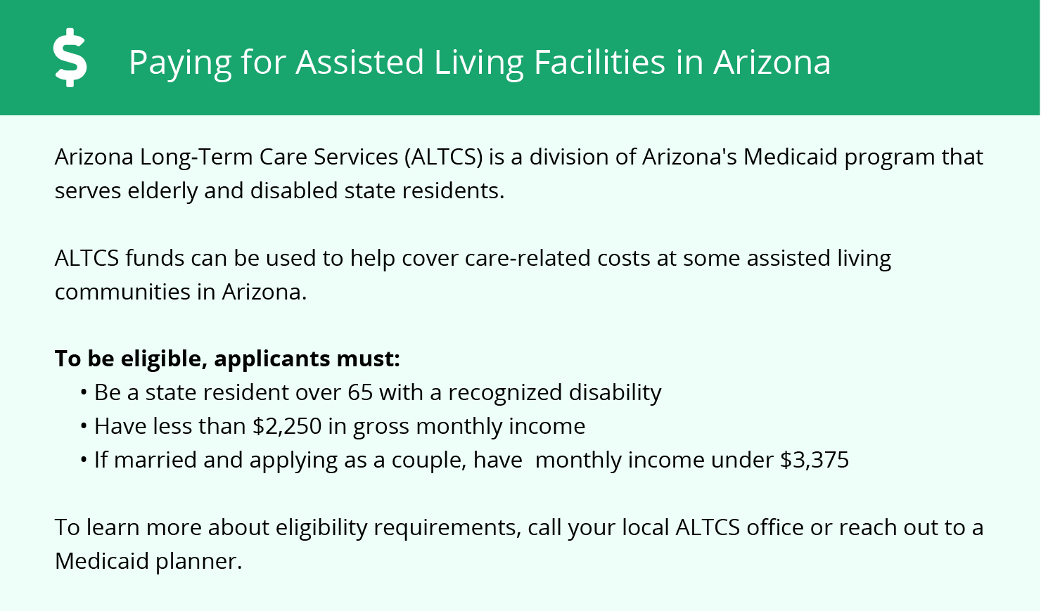 Financial Assistance for Assisted Living in Phoenix