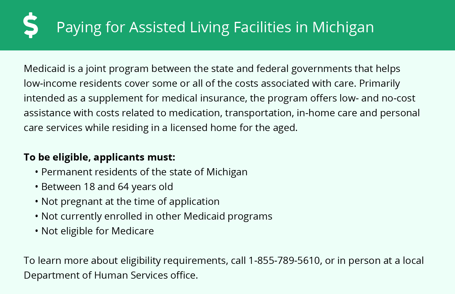 Financial Assistance for Assisted Living in Holly