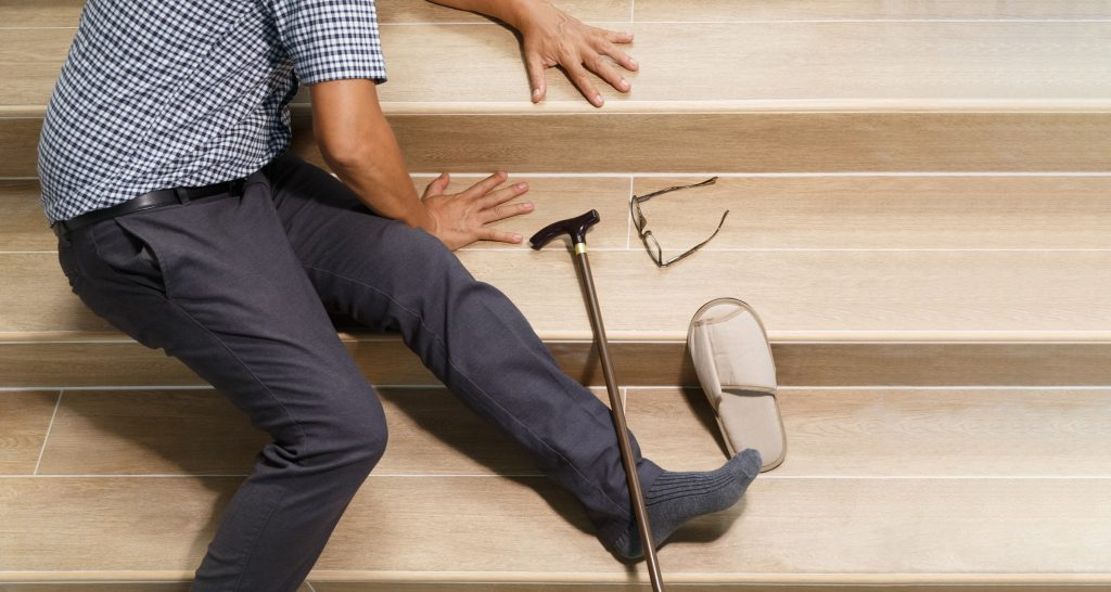 Causes of Falls in Elderly Adults