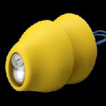 close image of phonak lyric hearing aid